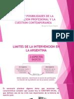 Limites y Posibilidades de La Intervencion Profesional y
