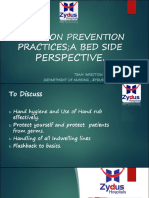 Infection Prevention Practices; A Bed Side Perspective.