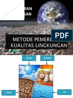 1. Metode Pemeriksaan Kualitas Lingkungan - Air