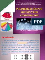 Polimerización x Adición y Condensación