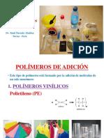 Reacc. Polimeriz. y Usos de Polímeros