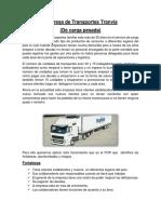 Trabajo de La Empresa de Transportes Tranvía 1
