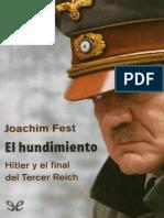 El Hundimiento - Joachim Fest