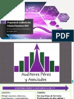 Propuesta de Auditoria a Los Estados Financieros