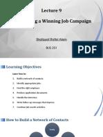 Shafquat Alam_BUS 251_Lec 11 _Conducting a Winning Job Campaign.pptx