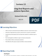 Shafquat Alam_BUS 251_Lec 13_Delivering Oral Reports and Business Speeches (1).pptx