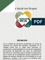 6 Trabajo Social con Grupos.pptx