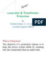 Generator & Transformer Protection.pptx
