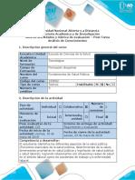 Guía de actividades y rúbrica de evaluación - Post Tarea - Análisis de Conocimientos.docx