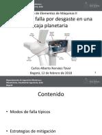 2.Analisis Desgaste Reductor Planetario