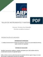 Clase # 9.1 Electronica Taller de Instrumentacion y Materiales Electricos AIEP 2019