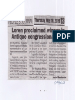 Peoples Journal, May 16, 2019, Loren proclaimed winner in Antiqyue congressional race.pdf