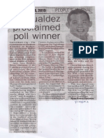 Peoples Journal, May 16, 2019, Romualdez proclaimed poll winner.pdf