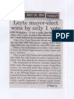 Peoples Tonight, May 16, 2019, Leyte mayor-elect wins by only 1 vote.pdf