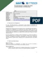 Programa - Actualidad Nacional e Internacional - 2010
