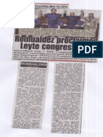 Peoples Tonight, May 16, 2019, Romualdez proclaimed Leyte congressman.pdf