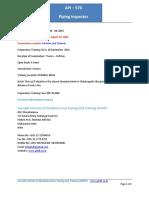 API 570 Study Plan