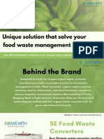 Food waste management in India- Solwearth Ecotech