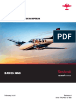 Baron G58 Specification Description TH 2453 to TBD Revision A