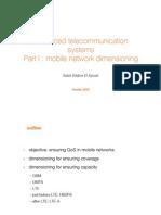 Advanced telecommunication systems
