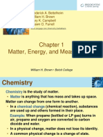 1 Chap 1 Matter, Energy and Measurement