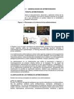 Capitulo 1 Generalidades de Antimicrobianos