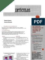 Artículo estadistica inferencial