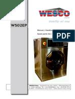 Washing Machine W502EP