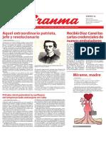Diario Granma 2019051109