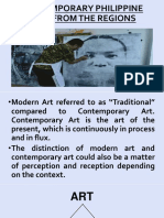 3 Modern vs Contemporary Arts