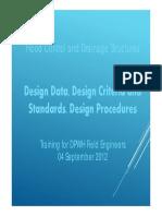 Design Presentation Flood Control Structures