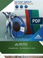 Catalogue-hoa Phat Steel Sheet