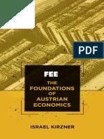 Foundations of Austrian Economics by Israel Kirzner.epub