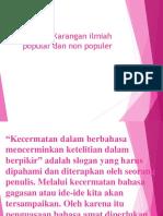 (Bahasa) definisi karya ilmiah populer.pptx