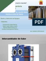 INTERCAMBIADOR DE CALOR PARA LA PRODUCCIÓN DEL PISCO.pptx