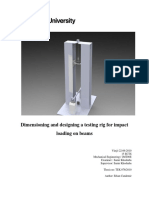 Dimensioning and designing a testing rig for impact loading on beams.pdf