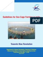Guidelines for Sea Cage Farming in India - January 2018