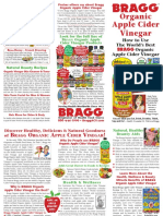 Apple Cider Vinegar Brochure