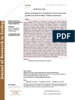 Efficiency of immobilization technique for Azotobacter chroococcum and its effect on the growth and yield of wheat Triticum aestivum L.