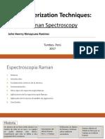 Raman Spectroscopy- John Rimaycuna.pptx
