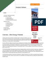 Wind Energy Country Analysis Vietnam - Energypedia.info
