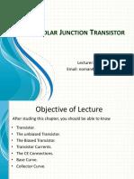 6 -Bipolar Junction Transistor