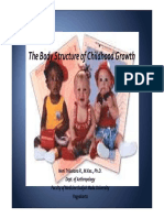 The Body Structure of Childhood Growth (2010)