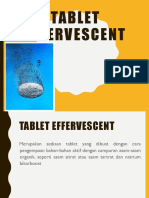 1. Tablet Effervecent