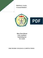 PROPOSAL USAHA Wadah Permen.docx