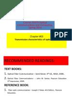L7-9 Transmission Characteristics of Optical Fibers