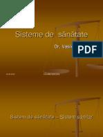 Sisteme de Sanatate