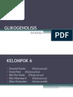 KELOMPOK 6 GLIKOGENOLISIS