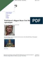 Biggest Bears Test