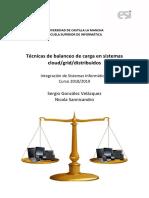 Balanceo de Carga en Sistemas Grid/Distribuidos/Cloud